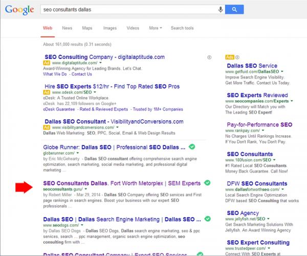 google-placement-seo-dallas
