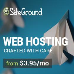 Siteground hosting ad